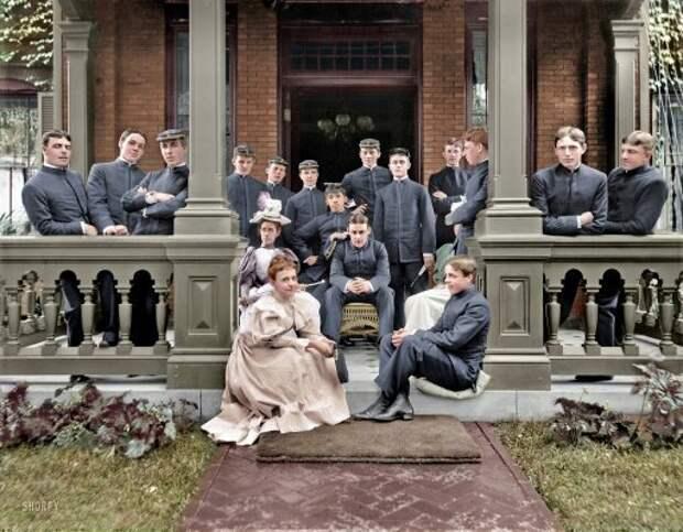13 ретро-фотографий в цвете, сделанных за несколько лет до начала Первой мировой войны