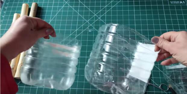 Отличная идея для интерьера из пятилитровой бутыли