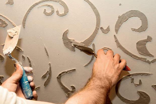 Декорируем стены объемной отделкой (3) (700x466, 301Kb)