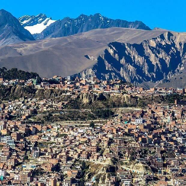 Ла-Пас, Боливия.