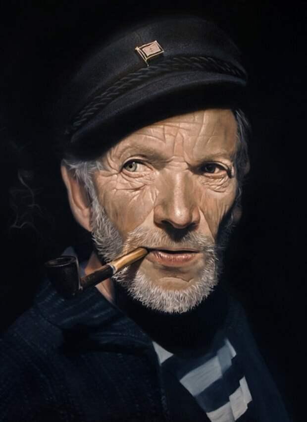 Впечатляющие картины в стиле «гиперреализм»