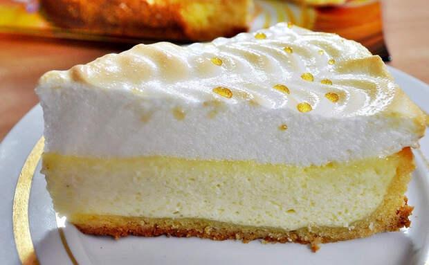 Пирог «Слезы Ангела»: совмещаем выпечку с нежным безе