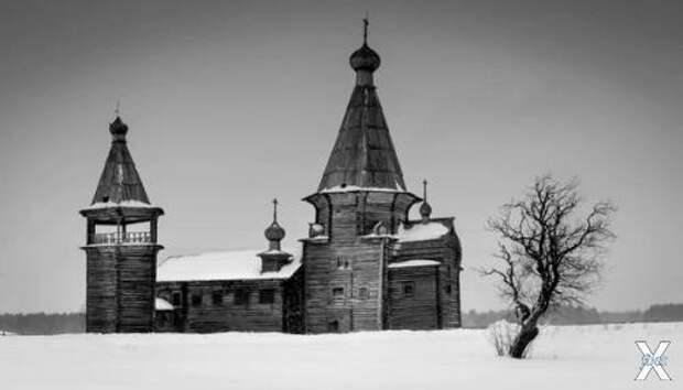 Церковь Иоанна Златоуста XVII века в ...