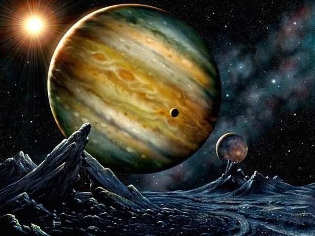 По росту становись! Планеты Солнечной системы