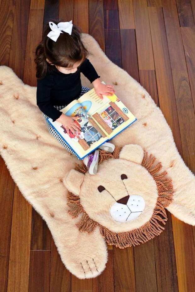 Шкура льва в детскую (DIY)
