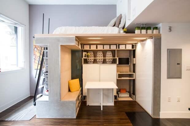 Функциональное решение в небольшой квартире