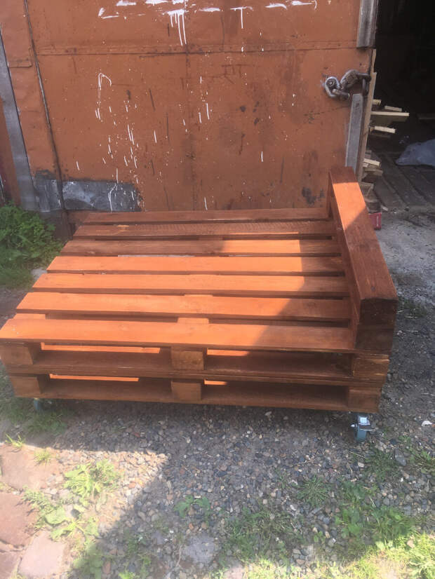 Мебель из паллет (поддонов) - отличный бизнес