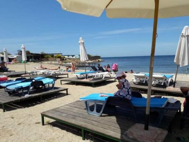 В каком состоянии находится лучший пляж Севастополя?