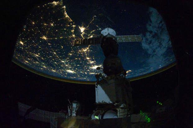 Ночные города. Вид из космоса. (29 фото)