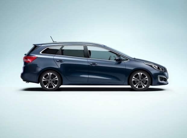2016 Kia cee'd получил новую внешность и моторы