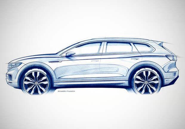 Новый Volkswagen Touareg: первые подробности