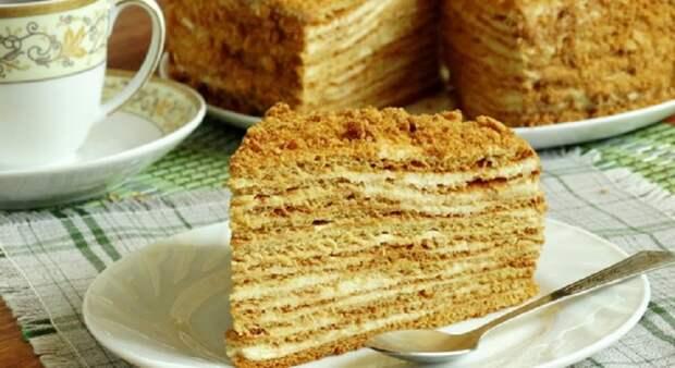 Нежный домашний торт «Рыжик»: самый вкусный и очень мягкий
