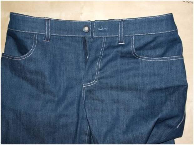 ИГОЛКА С НИТОЧКОЙ. Обработка боковых карманов на джинсах