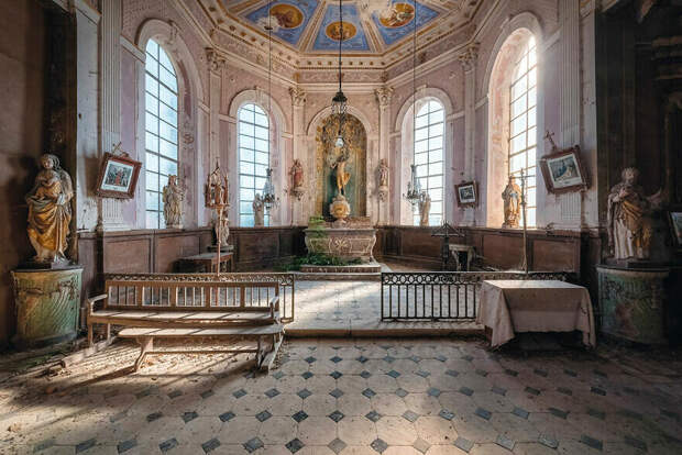 Церковь XV – XVI веков, Франция, Гранд-Ист