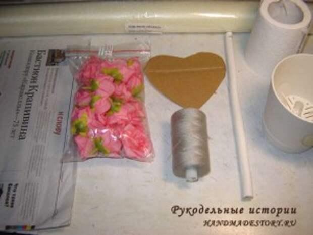 Материалы для топиария сердце