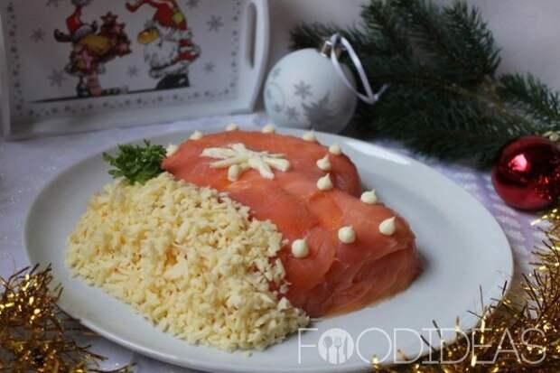 Салат «Варежка Деда Мороза»
