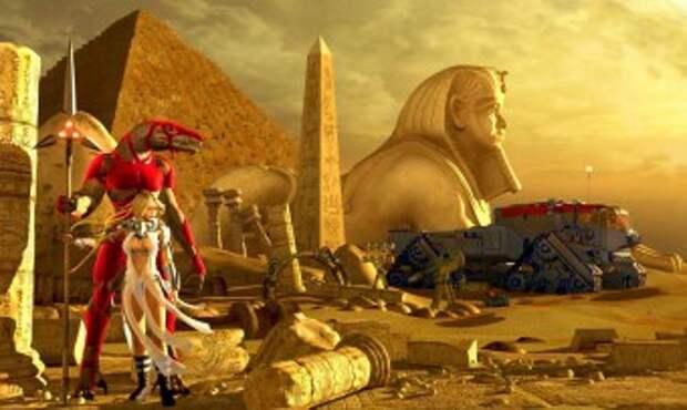 Древний Египет: Раса правителей