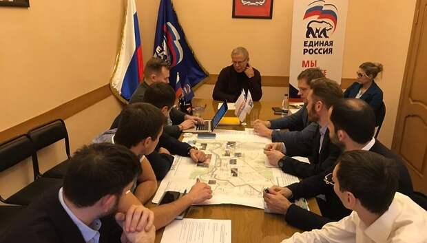 Активисты Подольска представили проект туристического маршрута депутату Фетисову