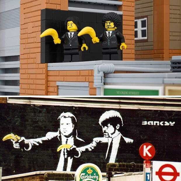 Bricksy  (Бэнкси из Lego)