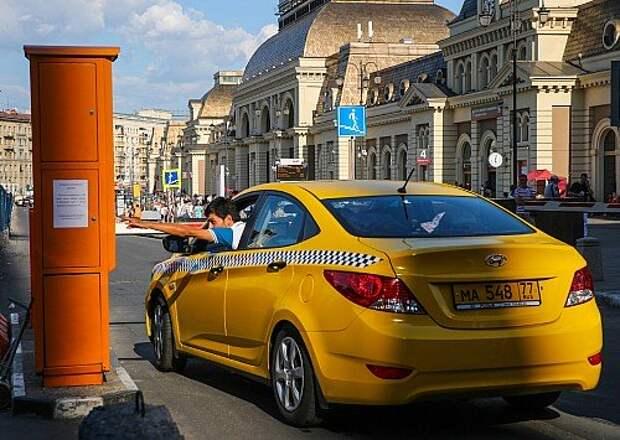 Работа такси в столице