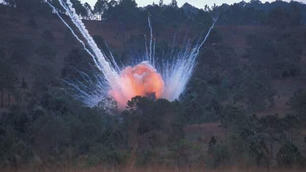 Испытания на секретном военном заводе в Израиле окончились мощным взрывом