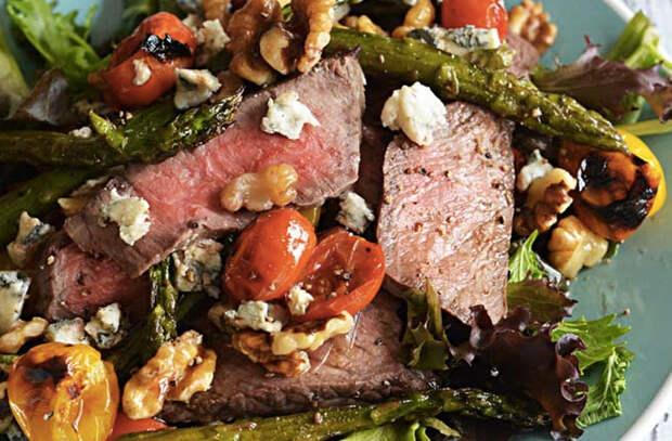 Шедевральные салаты со стейком