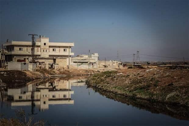 Самолёты американской коалиции разбомбили водопровод и станции очистки воды в Алеппо