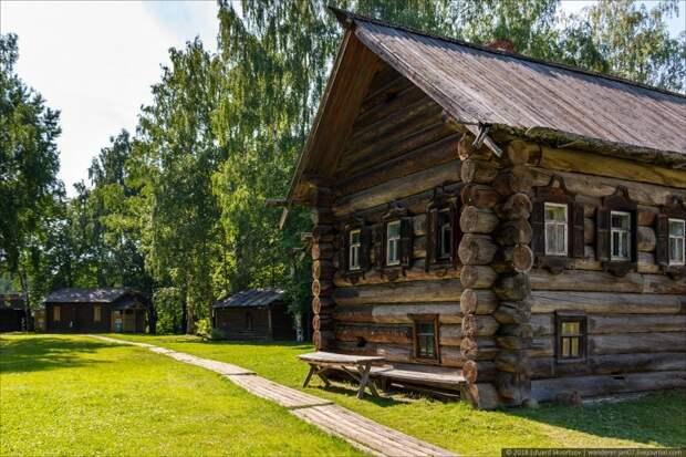 """Кострома. Музей деревянного зодчества """"Костромская слобода"""" путешествия, факты, фото"""