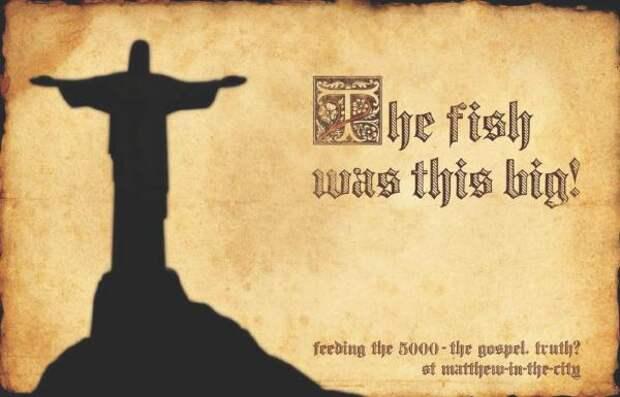 St Matthew-in-the-City: Fish, St Matthew-in-the-city, M&c Saatchi, Печатная реклама