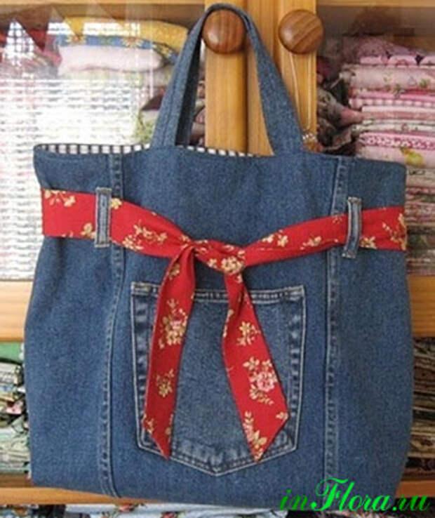 джинсовые сумки своими руками