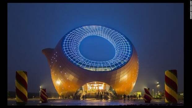 Wuxi Wanda Cultural Tourism City Exhibition Center