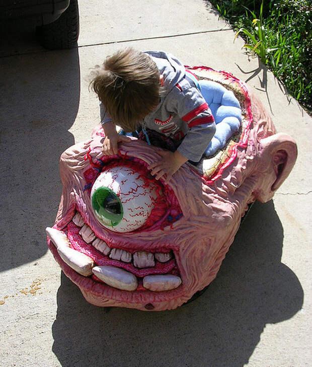 20. Дети будут в восторге. Взрослые начнут шарахаться от вас в стороны. детские коляски, креатив, родители
