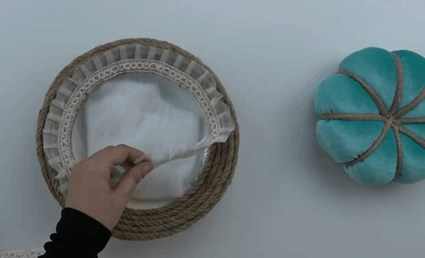 Интересная идея использования разбитой тарелки