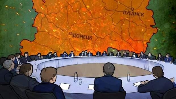 Переговоры по Донбассу: Зеленский фактически ликвидировал «минский процесс»