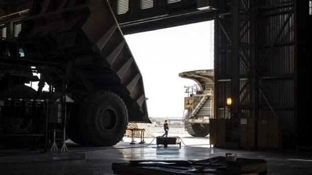 300-тонный грузовик