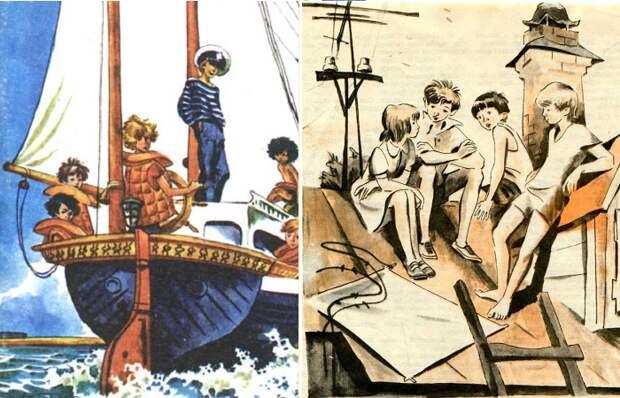 Иллюстрации Евгения Медведева, в которые в детстве хотелось залезть и найти друзей.