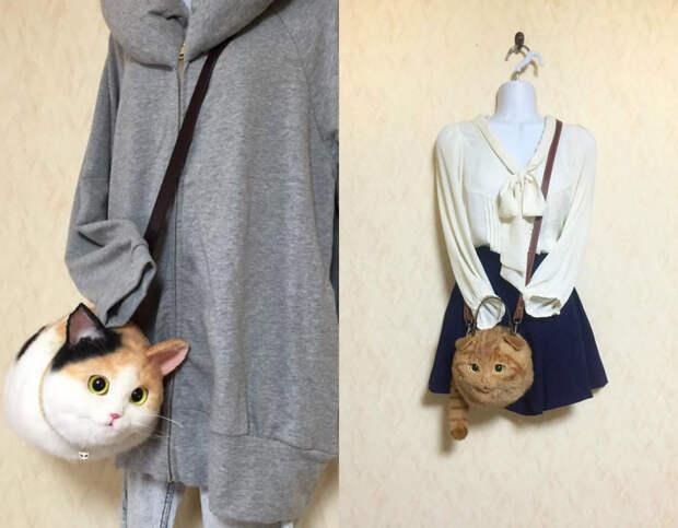 """Сумасшедшая мода родом из Японии: котосумки и """"похмельный макияж"""""""