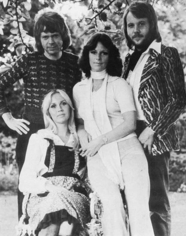АББА фото / ABBA photo. Бенни Андерссон (Benny Andersson), Анни-Фрид (Фрида) Лингстад (Anni-Frid Lyngstad), Агнета Фельтског (Agnetha Fältskog), Бьорн Ульвеус (Björn Ulvaeus)