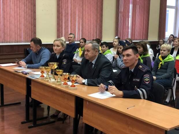 Руководство УВД по САО приняло участие в фестивале агитбригад отрядов юных инспекторов движения образовательных организаций САО г. Москвы