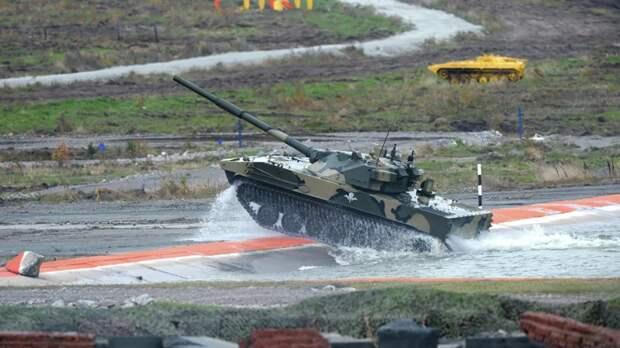 Плавающий танк «Спрут-СДМ1» поступит на вооружение ВДВ в 2023 году