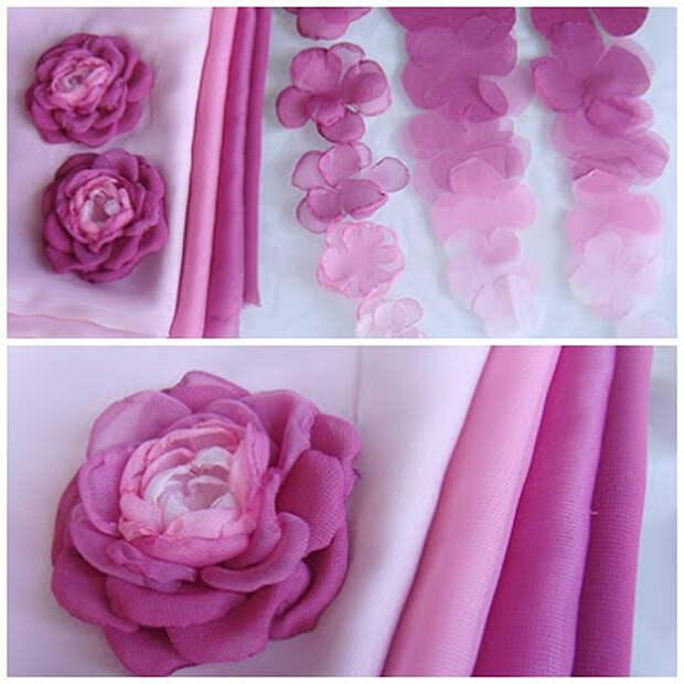 Цветы из ткани и БУКЕТ ИЗ СТАРОЙ ЛАМПЫ (9) (400x400, 127Kb)