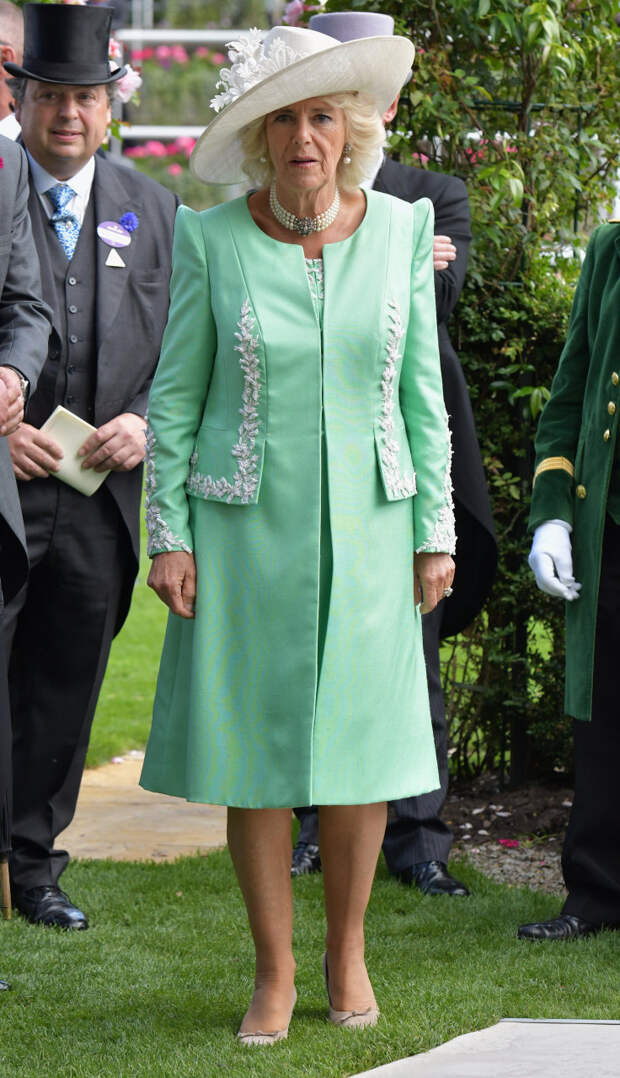 Камилла Паркер-Болуз на Royal Ascot, 2018