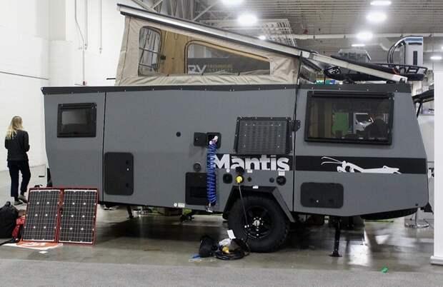 Творение фирмы Taxa - Mantis, самый большой трейлер из серии авто, дома на колесах, кемпинг, отдых, прицепы, трейлер, трейлеры, фото
