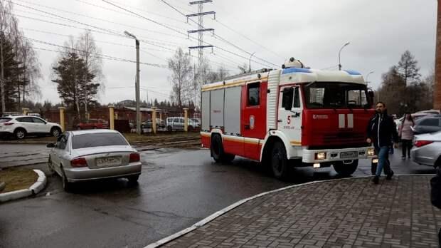 В здании Управления архитектуры администрации Ижевска произошло возгорание