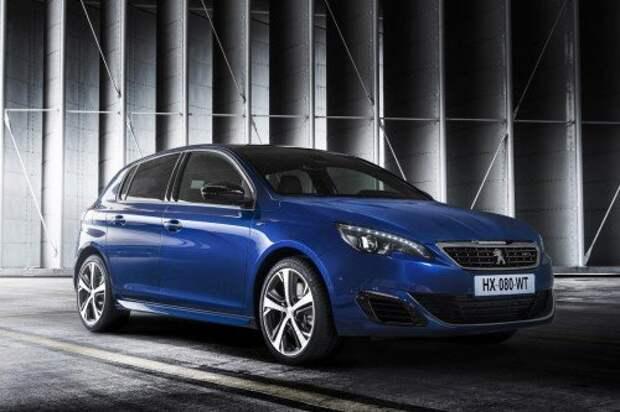 Peugeot представила спортверсию 308-го