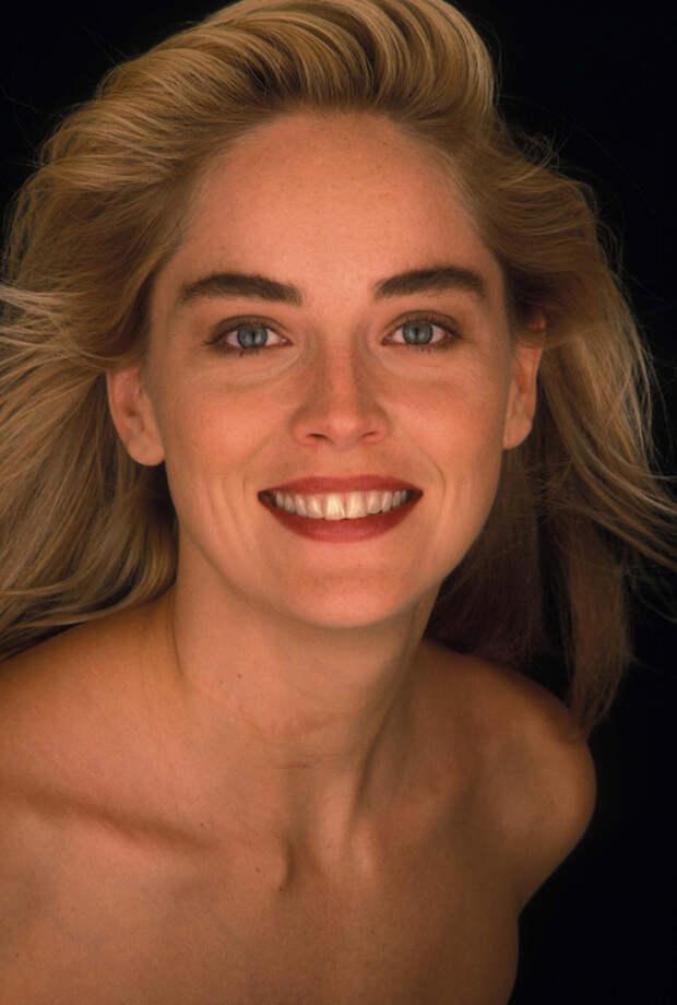 Шэрон Стоун (Sharon Stone) в фотосессии Яна Майлза (Ian Miles) (1990), фото 3