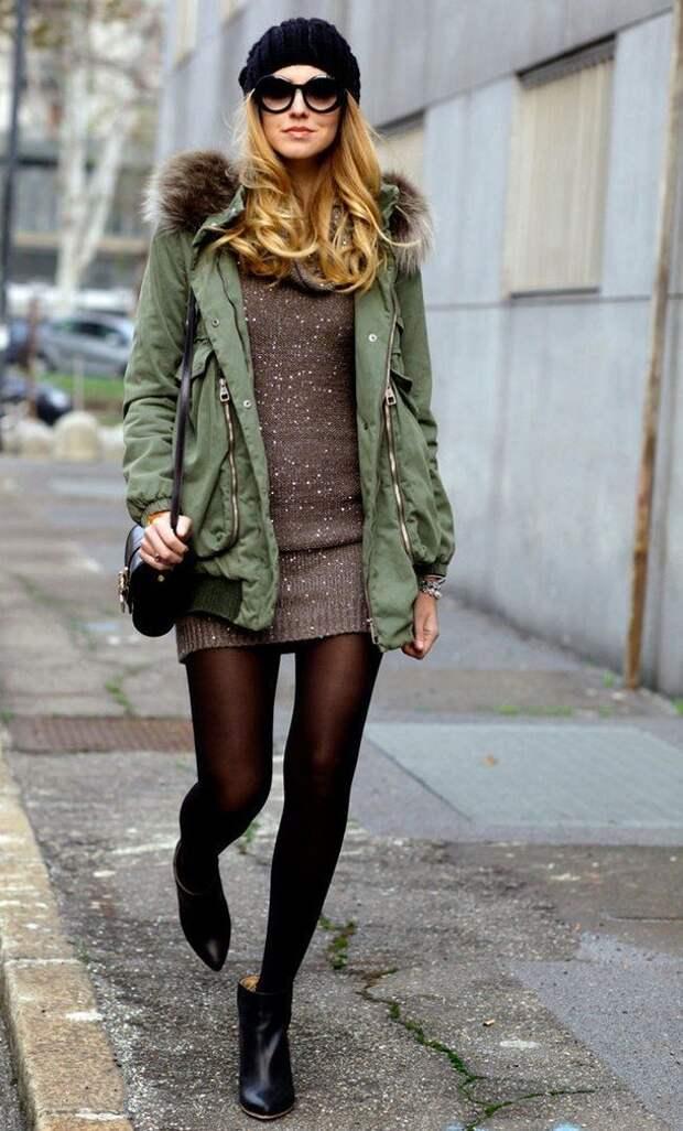 Модные ботинки с острым носом: с чем носить зимой