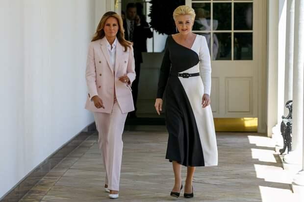 7 модных секретов Мелании Трамп, самой элегантной первой леди в мире