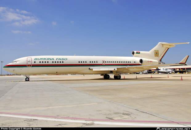 Буркина-Фасо. Борт номер один, президенты, самолёты