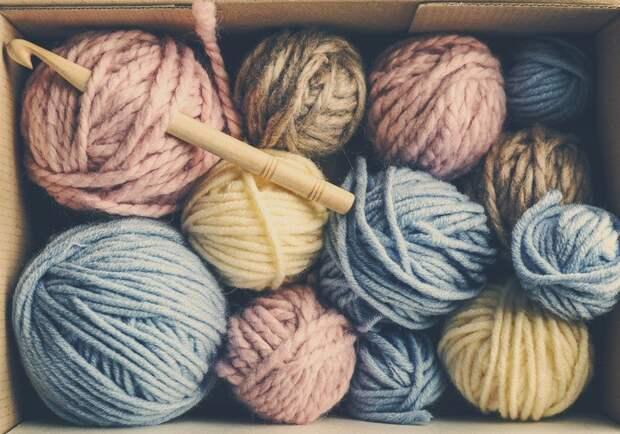 цвет ниток для вязания